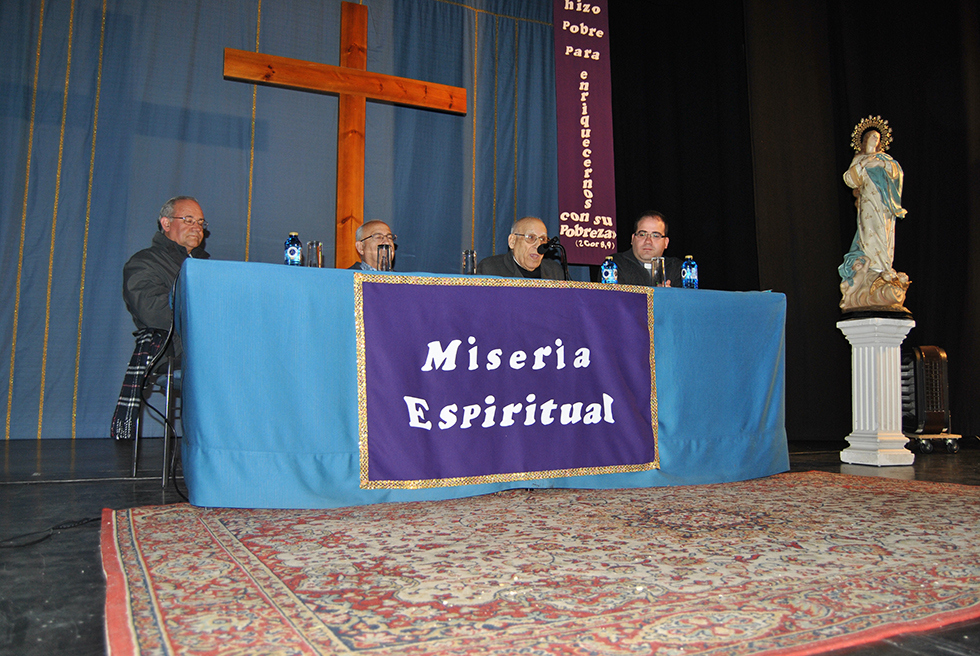 Antonio Marcos abordó la miseria espiritual