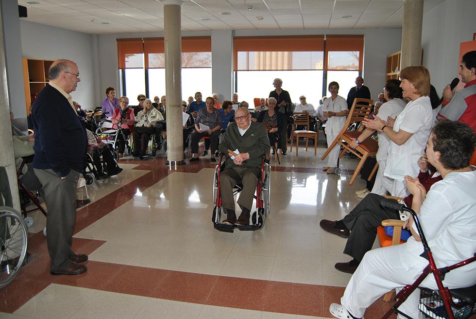 Saturio del Bosque celebra 100 años en la residencia San Pedro Advíncula de Peñaranda