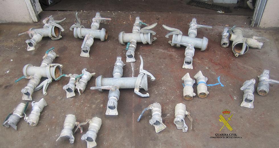 Llaves recuperadas por el Equipo ROCA de la Guardia Civil