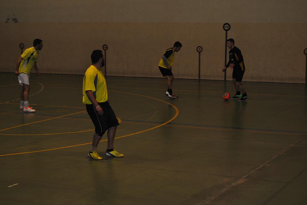 Partido de fútbol-sala del Torneo de invierno de Peñaranda