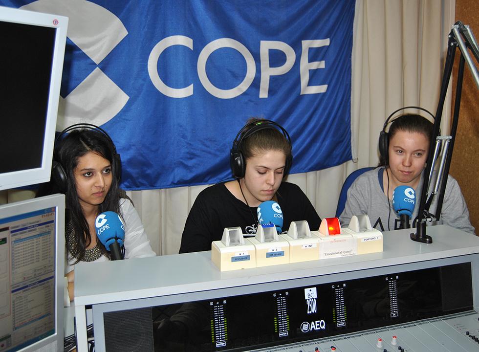 Alumnos del Colegio de la Encarnación participantes en el Concurso Euroscola