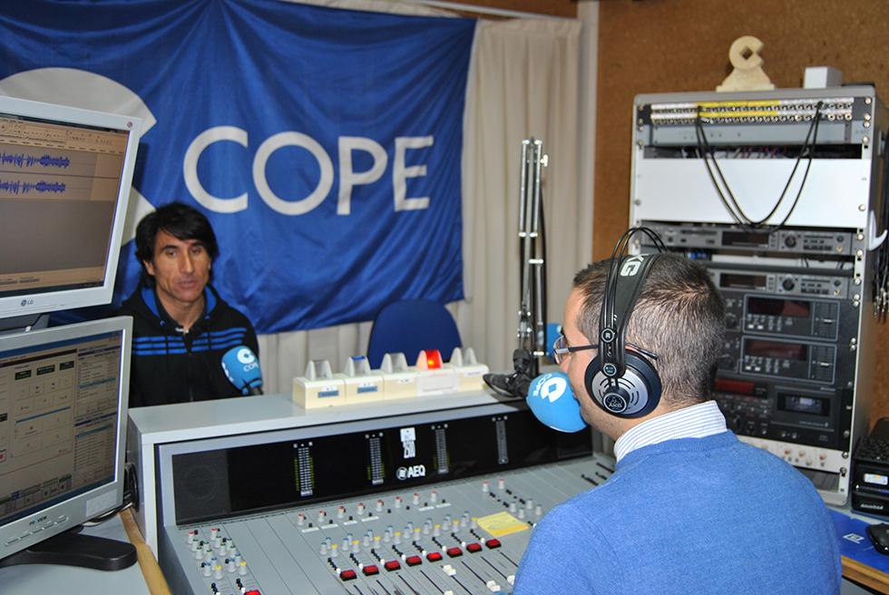 El concejal de Deportes, Fran Blázquez, estuvo en el programa Deportes COPE en Peñaranda
