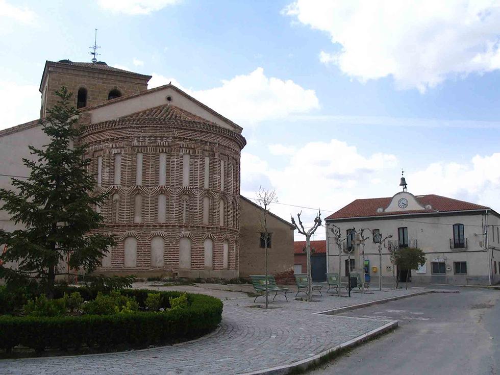 Panorámica del casco urbano de Villar de Gallimazo