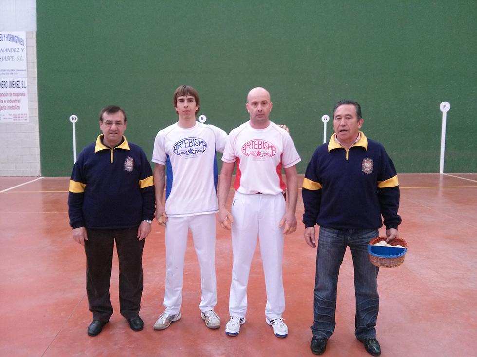Pelotaris en el I Torneo de élite Las Villas