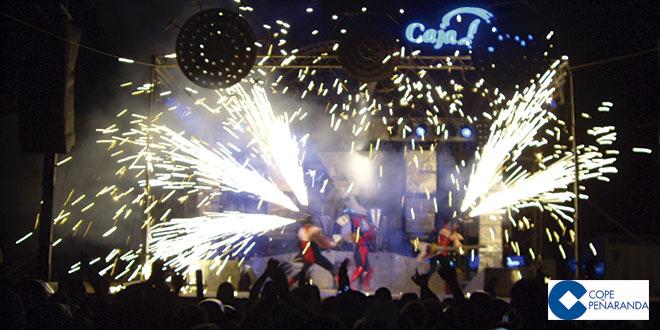 Fotografía de archivo del espectáculo Fan de Foc