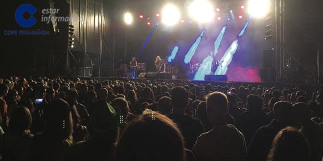 Imagen de uno de los conciertos de las Ferias y Fiestas 2015