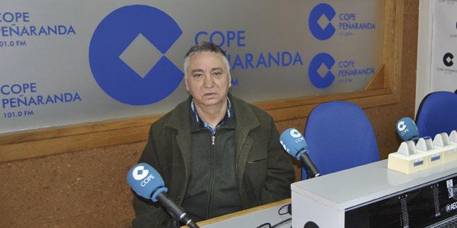 Antonio Pérez durante la entrevista en COPE Peñaranda