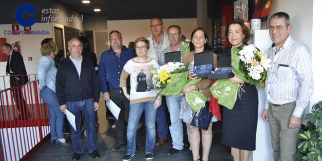 Acopedis organizó un pequeño homenaje a diferentes colectivos que colaboran con elllos
