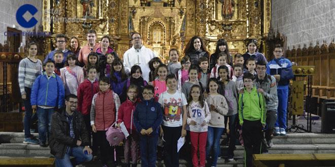 Macotera acogió la convivencia infantil del arciprestazgo de Peñaranda