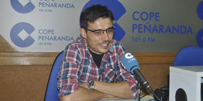 David de Juan durante la entrevista en COPE Peñaranda