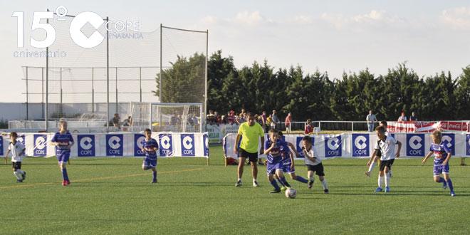 Unos 200 jugadores participaron en el Torneo de Fútbol-7 Ciudad de Peñaranda