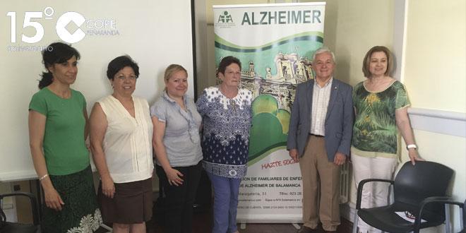 La Asociación de Familiares de enfermos de Alzheimer organizó en Peñaranda una charla informativa