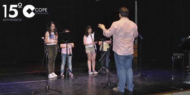 Los alumnos de la Escuela municipal de Música protagonizaron la primera audición de fin de curso