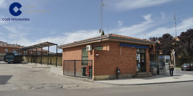 Imagen de la terminal de autobuses de Peñaranda de Bracamonte
