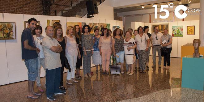 La fundación acoge la exposición con algunos de los trabajos de los talleres de ocio y tiempo libre