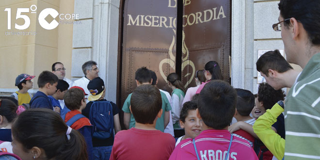Las madres Clarisas de Cantalapiedra organizaron un Jubileo de la Misericordia para niños