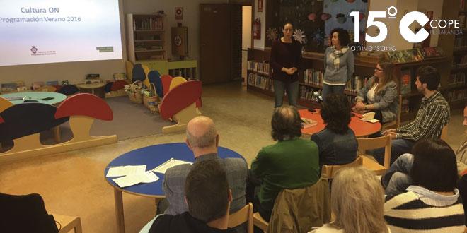 Florencia Corrionero y Pilar García presentaron la programación estival de la Fundación