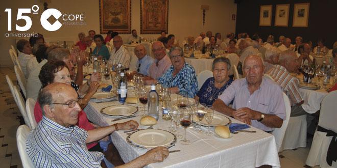 Los mayores de Peñaranda compartieron una comida de hermandad