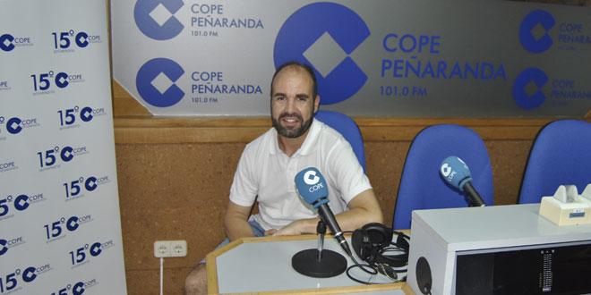 José Arias, de la II kedada running de Santiago de la Puebla