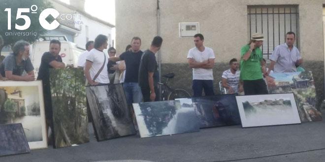 Medio centenar de artistas participaron en el XI Concurso de pintura rápida de Alaraz