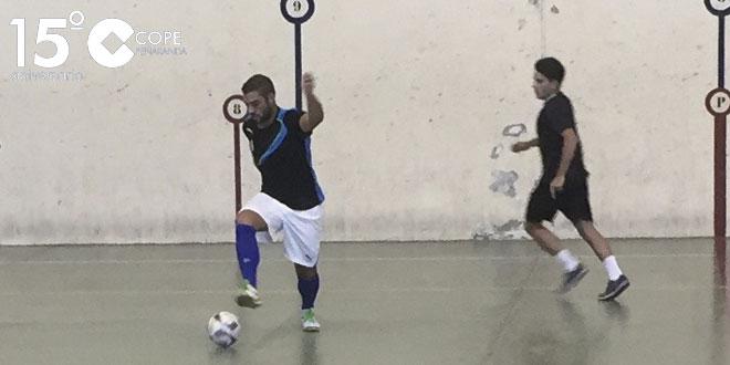 Fotografía de archivo de un partido del Rágama FC en el Torneo de verano de FS