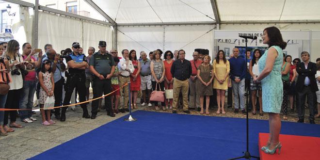 Cientos de personas han visitado la V Feria Multisectorial de Peñaranda