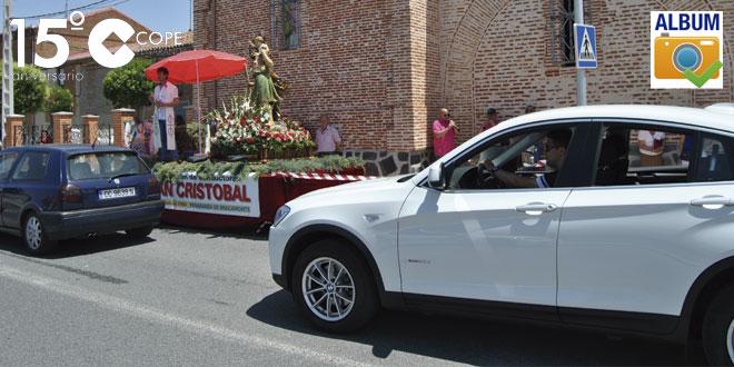 Decenas de personas participaron en la fiesta de San Cristobal