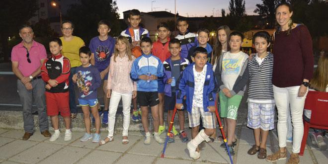 Entrega de premios de Torneo infantil de verano de Ajedrez