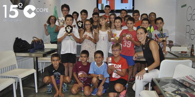 El Torneo infantil de ajedrez de Ferias reunió a una treintena de participantes