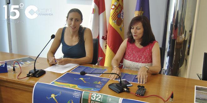 Pilar García y Carmen Ávila presentaron la programación deportiva estival