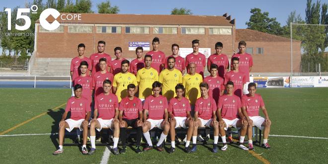 Los juveniles del CD Peñaranda en su primer entrenamiento de la pretemporada