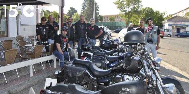 Las motos fueron protagonistas en la II Biker day de Peñaranda