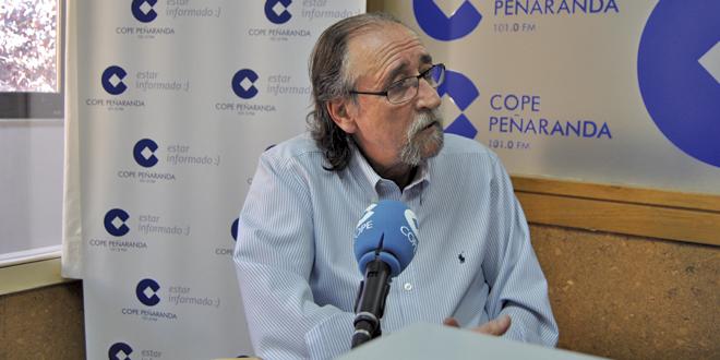 Alejandro Mesonero durante la entrevista en COPE PEÑARANDA