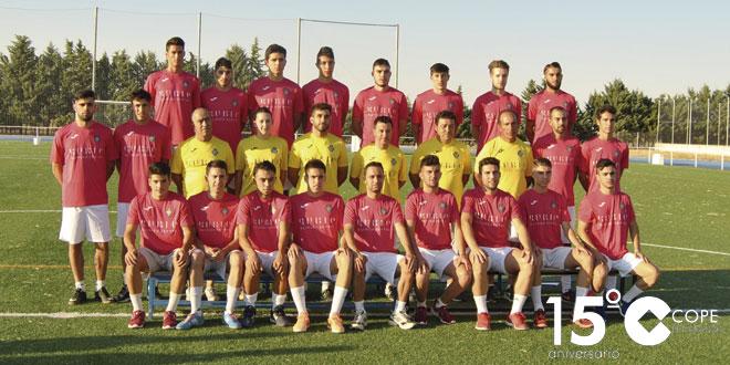 Plantilla del primer equipo del CD Peñaranda de la temporada 16/17