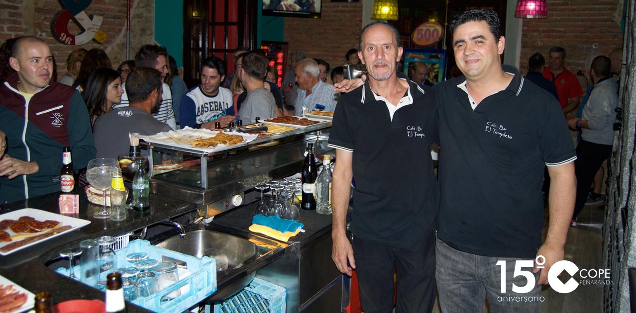 El Café-bar el Templete inauguró sus nuevas instalaciones en la calle Ricardo Soriano