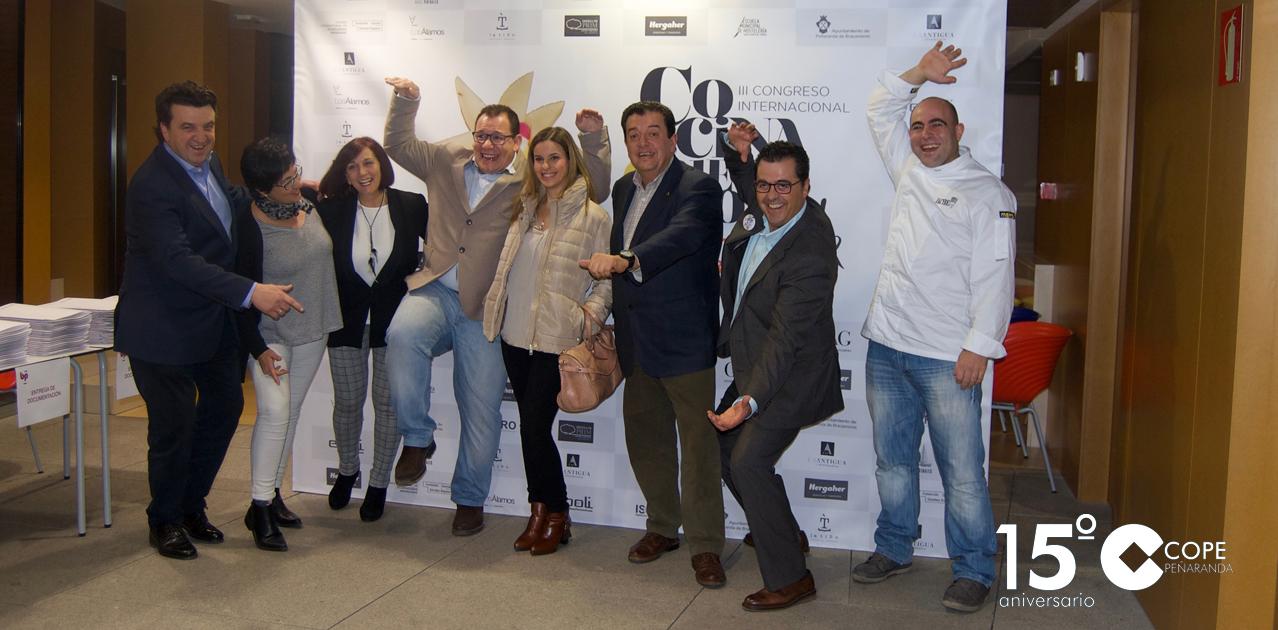 El CITA acogió la presentación del III Congreso internacional Cocina con queso... y humor