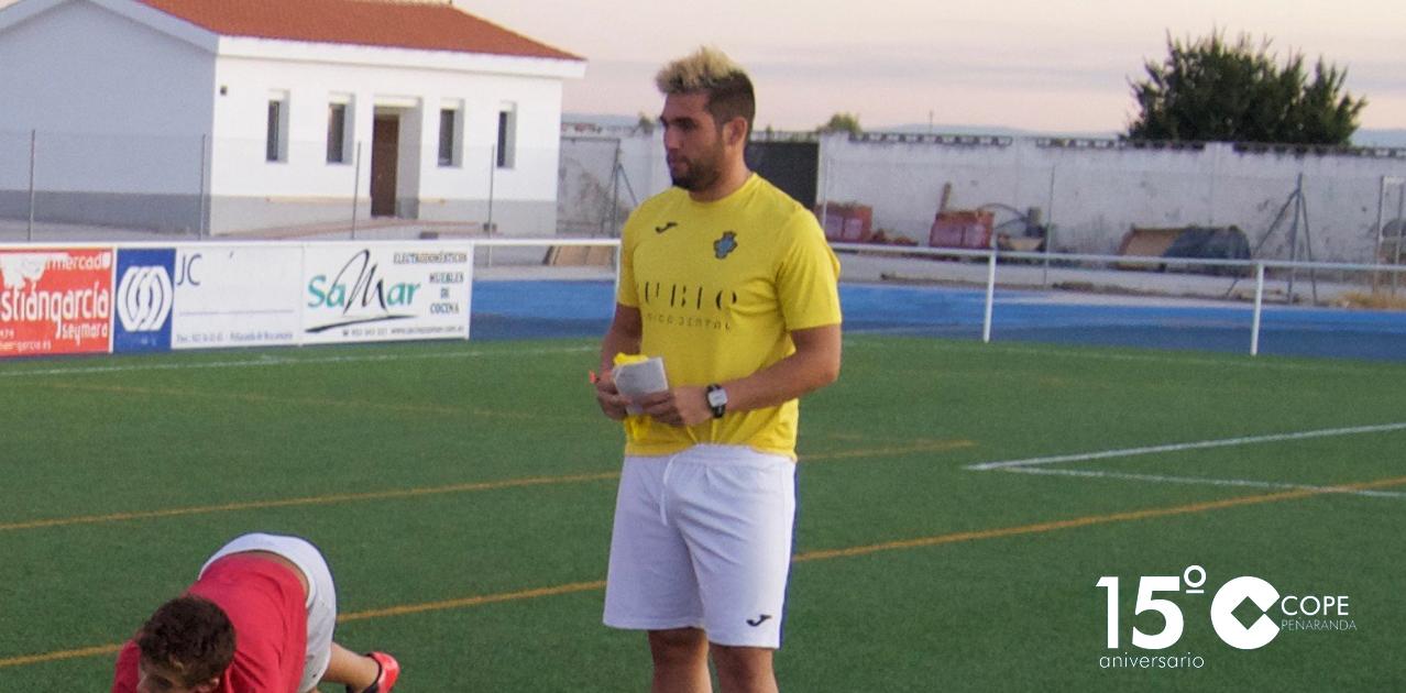 Fotografía de Justi Huerta en el polideportivo municipal Luis García