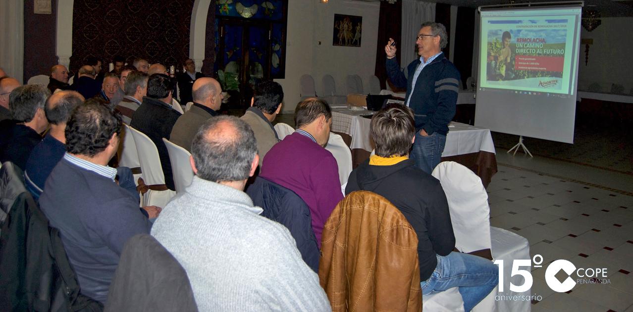 Herbiagro organizó en Peñaranda una jornada técnica sobre el cultivo de la remolacha