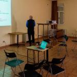 Dos socios de Salandar impartieron una charla en Cantaracillo. / FOTO: Medes