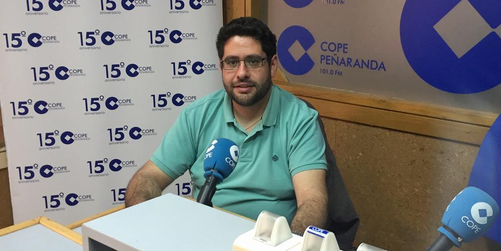 Ciriaco García es seminarista diocesano, natural de Tordillos.