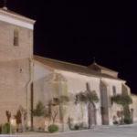 Nueva iluminación monumental de la iglesia de El Campo de Peñaranda.