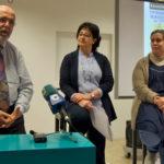 Miguel Ángel Núñez, Araceli Rodríguez y María Ángeles Redondo durante la presentación de la programación.