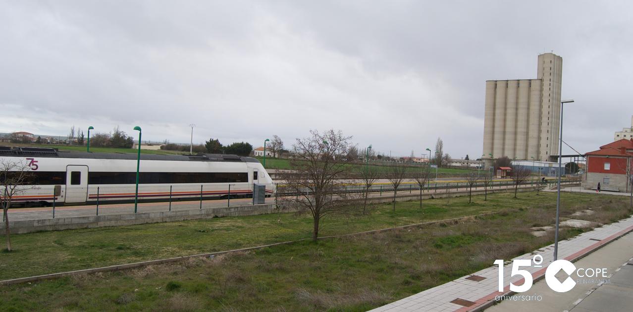 Estación de tren de Peñaranda de Bracamonte.