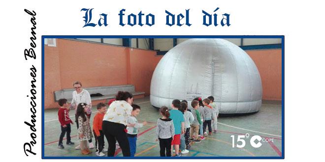 Cúpula 360º en el CEIP Severiano Montero