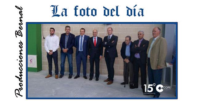 Inauguración frontón cubierto de Aldeaseca