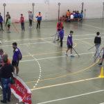 El pabellón cubierto acogió la II Jornada de deporte adaptado.