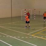 Un momento del partido entre el Everon y Bar Pepe-El Templete en la final del Torneo de invierno de FS.