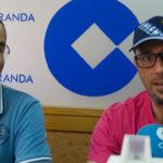 Ángel García durante la entrevista en LA MAÑANA EN PEÑARANDA.