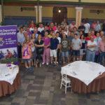 El CD Peñaranda reunió a más de medio centenar de personas en el restaurante Las Cabañas.