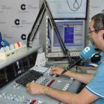 Responsable de comunicación social de Mares Virtuales, Joaquín Pinto, durante la entrevista en La Mañana en Peñaranda.